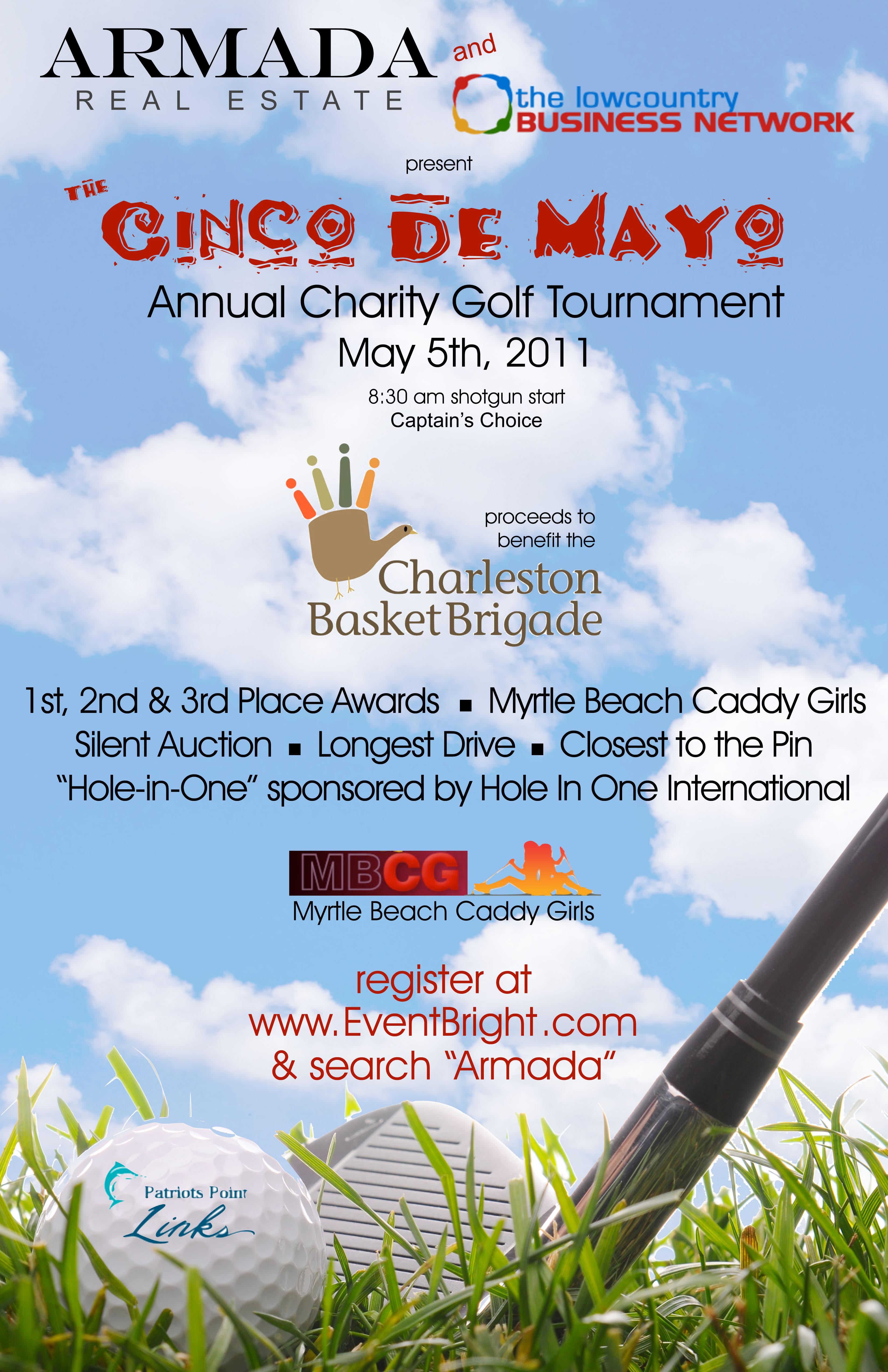 Armada Charity Golf Tournament Poster