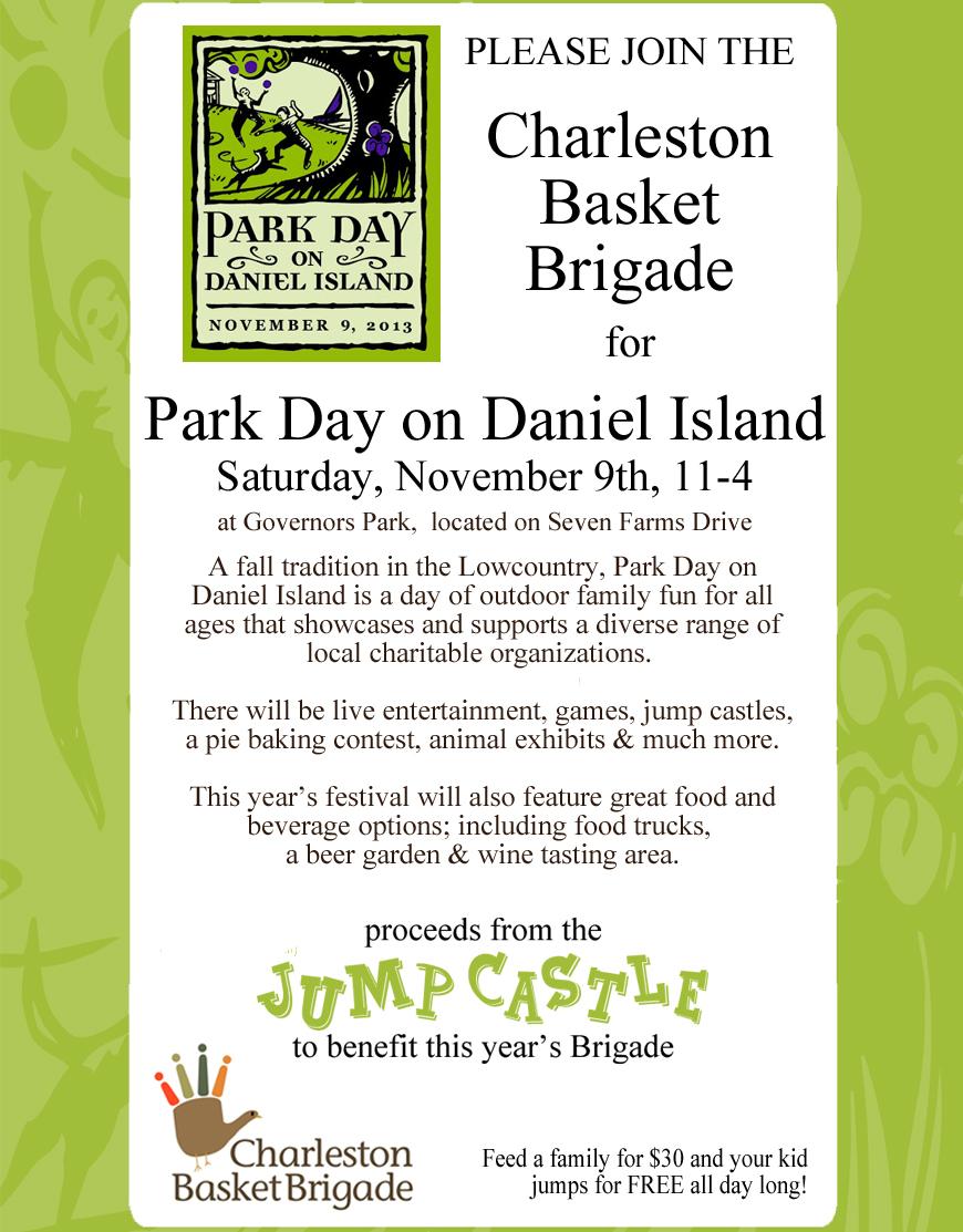 Park Day 2013 flyer