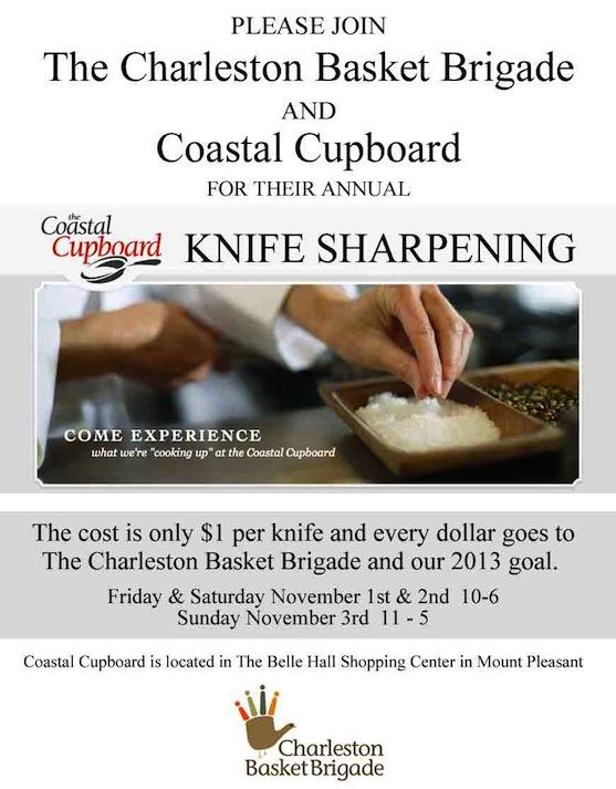 Knife Sharpening 2012 flyer